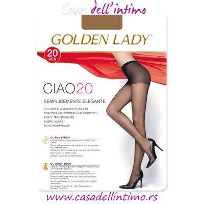 ČARAPE GOLDEN LADY CIAO 20 DEN