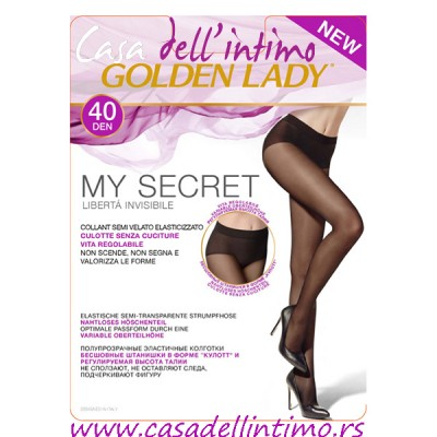 ČARAPE GOLDEN LADY MY SECRET 40 DEN