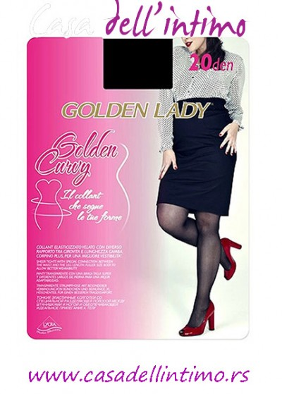 ČARAPE GOLDEN LADY CURVY 20 DEN