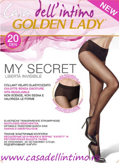 ČARAPE GOLDEN LADY MY SECRET 20 DEN